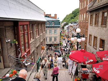 Quebec lower old town