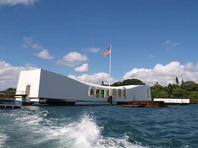 USS Arizona Memorial, Pearl Harbour, Honolulu