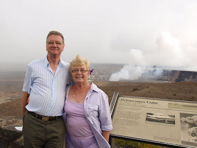 Halema'uma'u Crater, the Big Island