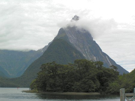 Mitre Peak by Milford Sound
