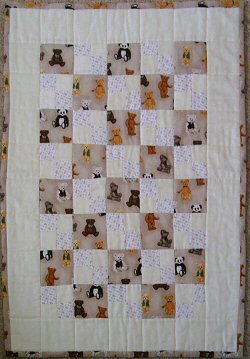 Sally's cot quilt
