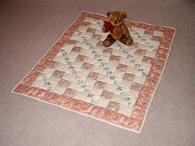 Tabitha's cot quilt