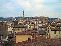 View of Florence from the Campanile Tower